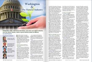 Washington and the Natural Industry