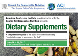 Annual Dietary Supplements Forum