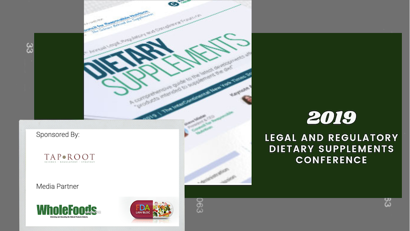 Legal and Regulatory Dietary Supplements Conference